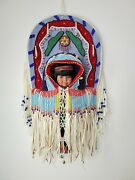 Native American Collectible Doll Artist Signed And Number 78p / Suvo