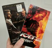 4 Tom Cruise Factory Sealed Vhs Lot Magnolia Mi-2 Collateral And All The Right