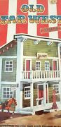 Nosexin West Old West Saloon Playset 2040 Sealed Spain Made See Description