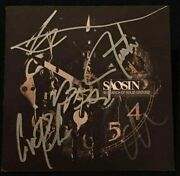 Saosin Band Signed Autograph Cd Booklet Cove Reber