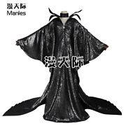 Maleficent Evil Queen Adults Cosplay Costume Fancy Dress Halloween Party Outfits