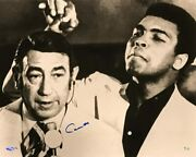 Cassius Clay Signed Muhammad Ali-cossell Ltd Ed 16x20 Photo Dual Authentication