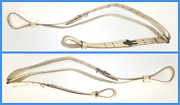 Argentine Army White Leather Fm Fal Sling Genuine Rare 1980s-1990s