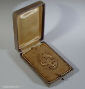 Superb Antique Gold-plated Silver Pendant With Memento Mori Skull-19th Century