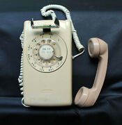 1970's Bell System Western Electric Rotary Dial Wall Phone Vintage Parts