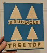Antique Christmas Double-glo Tree Topper Star With Original Box Paper Novelty