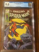 Amazing Spider-man 70 3/69 Cgc 9.0 Ow Pages Nice High Grade Spidey
