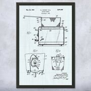 Framed Fryer Wall Art Print Culinary Gifts Kitchen Decor Chef Gift Cooking Gift