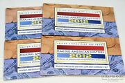 4- 2012 Making American History Coin And Currency Sets Proof Us Mint Sealed 22046