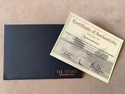 Romain Jerome The Titanic Dna Watch Certificate Of Authenticity Authentic Rare