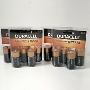 Duracell Coppertop C Batteries 16 Pack 4x4 Pack Battery New