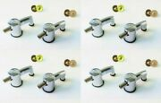 Set Of 8 New Sonor Bass Drum Lugs Force/ascent/essential/select/sse/smart/18