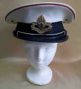 Israel Idf Army Mp Military Police Hat Size 57 With Badge