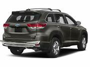 Kasei Fits 01-21 Toyota Highlander Stainless Rear Bumper Guard Double Layers