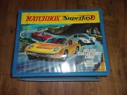 Vintage 1970 Matchbox Carrying Case With Trays Holds 72 Cars
