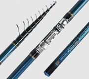 Telescopic Bolo Fishing Rod 4 4.5 5 6m Carbon Trout Travel Light Spinning Rods