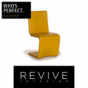 Who's Perfect Venere Leather Chair Yellow 15310