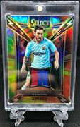 2017-18 Panini Select Lionel Messi Barcelona Patch Jersey Relic Tie Dye /30
