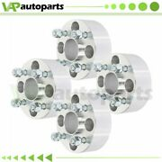 4pcs 2 Thick Wheel Spacers 4x100 Fits Chevy Aveo Honda Civic Fit Acura Integra