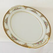 Vintage Serving Plate Sango China Made In Occupied Japan
