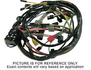65 Mustang Gt Main Under Dash Wiring Harness W/ Gauges And 3 Speed Heater Motor