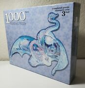 Fx Schmid 1000 Pc Jigsaw Shaped Puzzle Ice Dragon Rare Factory Sealed New 78018