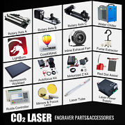 Co2 Laser Engraver Accessories - Water Chiller Laser Power Supply Rotary Axis