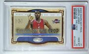 2003 Hoops Lebron James Rookie 1 Hot Prospects Cream Of The Crop - Psa 10