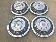 Set 41954 Plymouth Cello Wire Wheels Covers And Hubcaps Centers 15 Oem 54