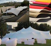 Waterproof Commercial Wedding Event Patio Party Coated Bedouin Stretch Tent Uv
