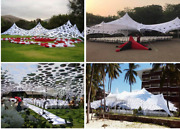 Waterproof Commercial Wedding Event Patio Party Coated Stretch Cheese Tent - New
