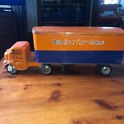 Wow Vintage 1953 Tonka Toy Transport Semi Truck And Trailer Our Own Hardware 23andrdquo B