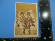 Antique Trade Card Acorn Stoves And Ranges Cook Stove Ice Skaters Tc9
