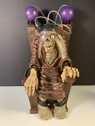 Tales From The Crypt Keeper Electric Chair Sounds Lights Vintage 1996 Halloween