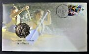 Australian 50 Cents Pnc 2008 Centenary Of Scouting Commemorative Coin