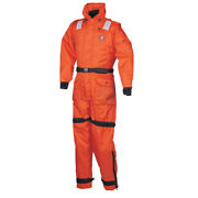 Mustang Survival Ms2175-l-or Mustang Deluxe Anti-exposure Coverall And Worksuit...