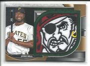 2021 Topps Museum Collection Momentous Emerald Jumbo Patch Josh Bell 1/1 Pirates