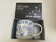 New In Box Starbucks Mug Hoth Star Wars 2020 Been There Series Esb Disney Parks