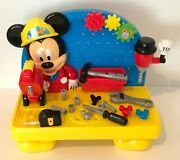 Disney Mickey Mouse Clubhouse Mousekadoer Workbench Playset Tool Bench And Tools