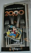 Disney Simple Things/mickey 3 Countdown To The Millennium Pin 541