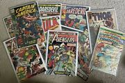 Comic Book Lot Of 30 • Many Old • Kirby • Daredevil 37 38 Thor 140 Spiderman 200
