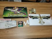Vintage Bandai Power Rangers Falconzord 1995 With Box Opened
