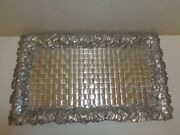 Wilton Armetale Pewter Tray Platter 20 Ivey Leaves