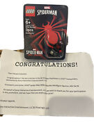 Lego Spider-man Miles Morales Minifigure Playstation 2020 Sweepstakes Brand New
