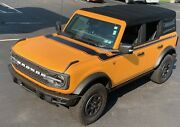Fits 2021-up Ford Bronco Retro Special Decor Style Side/hood Graphics Kit Above