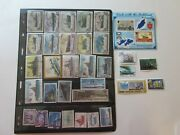 Ships And Boats - 52 Stamps - 1 Souvenir Sheet - Worldwide - Used And Mnh Lot 570