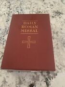 Daily Roman Missal Sunday And Weekday Masses 2013,genuine Leather.
