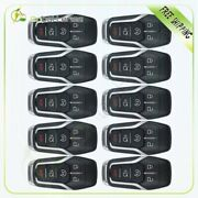 10pcs For 14-16 Lincoln Mkc Mkz Keyless Entry Key Fob Remote Control W/49 Chip