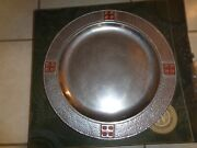 Wilton Armetale Antiquity Md Round Mission Tray Platter Charger W/box 13