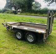 Ifor Williams Gx84 Plant Digger Trailer